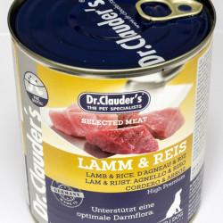 Dr. Clauder's Selected Meat Miel si Orez 800 g