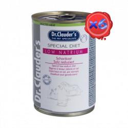 Dr. Clauders Dog Dieta LOW NATRIUM 6 x 400 g