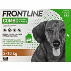 Frontline Combo S (2 -10 kg) - 3 pipete deparazitare