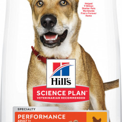 HILL'S SP Canine Adult Performance cu pui 14 kg
