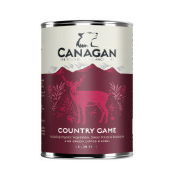 Hrana umeda pentru caini Canagan Grain Free cu vanat 400 g