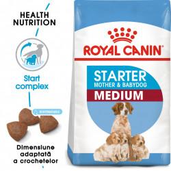Hrana uscata caini ROYAL CANIN Medium Starter Mother & Babydog