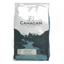 Hrana uscata pentru pisici Canagan cu somon 375 g