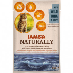 IAMS Naturally Adult Cat cu Ton