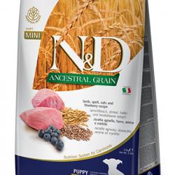 N&D Low Grain Mini Puppy Miel și Coacăze 7 kg
