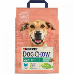 Purina Dog Chow Adult Light cu carne de Curcan 2.5 kg
