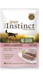 True Instinct No Grain Cat Pate cu somon proaspăt 70 gr