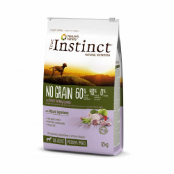 True Instinct No Grain Dog Medium & Maxi Adult Curcan 12 kg