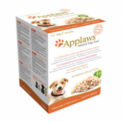 Applaws DOG SUPREME SELECTION pliculețe aspic 5 x 100 gr