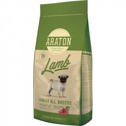 ARATON Dog Junior Lamb & Rice 15 KG
