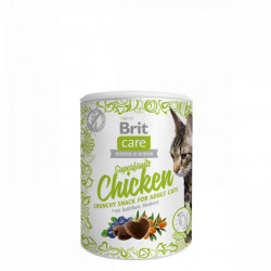 Brit Care Cat Snack Superfruits Chicken 100 gr