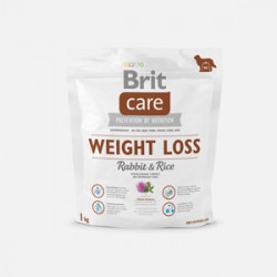 Brit Care Weight Loss Iepure și Orez 1 kg