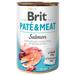 Brit Pate and Meat Somon 400 gr