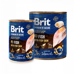 Brit Premium by Nature Pește 800 gr + 400 gr