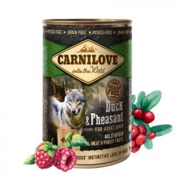 Carnilove Adult Dog Pate Rață si Fazan 400 g