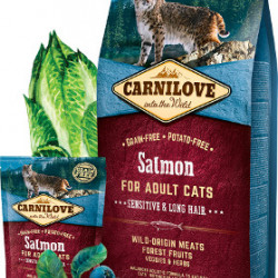 Carnilove Cat Sensitive & Long Hair