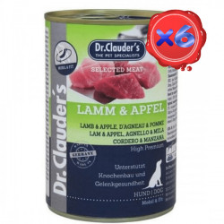 Dr. Clauder's Selected Meat Miel si Mar 6 x 800 g