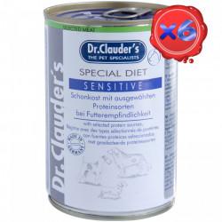 Dr. Clauders Dog Dieta Sensitive 6 x 400 g