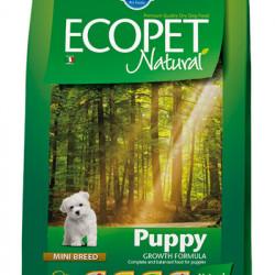 Ecopet Natural Puppy Mini 12 kg
