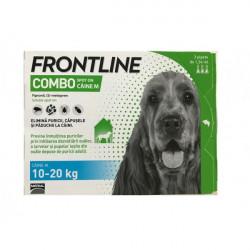 Frontline Combo M (10-20 kg) - 3 pipete deparazitare