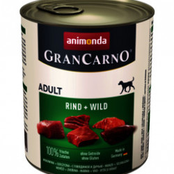 GranCarno Original Adult Vită și Vânat 800 gr
