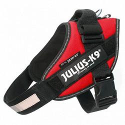 Ham Julius K9, IDC POWER, mărimea 1, 23-30 kg - Rosu