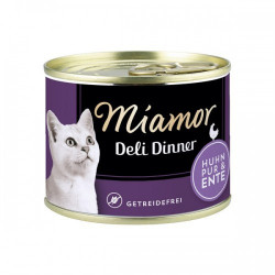 Hrana umeda pentru pisici Miamor Grain Free cu pui si rata 175 g