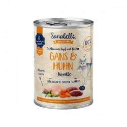 Hrana umeda Sanabelle conserva cu Gasca si Pui 380 gr