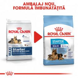 Hrana uscata caini ROYAL CANIN Maxi Starter Mother & Babydog ambalaj nou