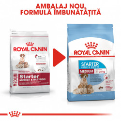Hrana uscata caini ROYAL CANIN Medium Starter Mother & Babydog Ambalaj Nou