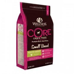 Hrana uscata pentru caini Wellness Core Small Breed Healthy Weight cu curcan 1.5 kg