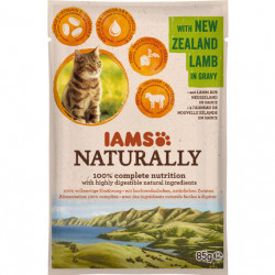 IAMS Naturally Adult Cat cu Miel