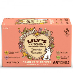 Lily's Kitchen Cat Everyday Favourites Multipack 8 x 85 g