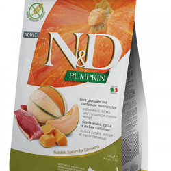 N&D Cat Pumpkin cu rata și pepene galben