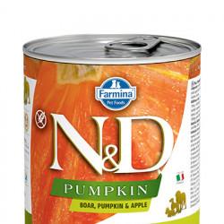 N&D Dog Pumpkin cu mistreț și măr 285 gr