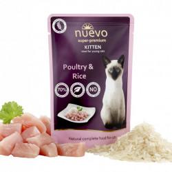 Nuevo Kitten cu pui și orez 85 gr