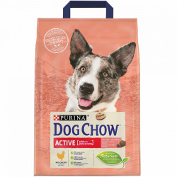 Purina Dog Chow Active Dog cu Pui 2.5 kg