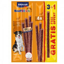 Recompense pentru caini Vitakraft Beef Stick Curcan 48g 3+1 PROMO