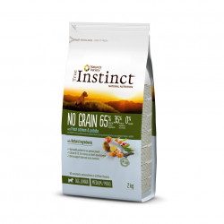 True Instinct Dog No Grain Medium & Maxi Puppy cu Somon 2 kg