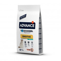 Advance Cat Sterilized Sensitive Somon 10 kg