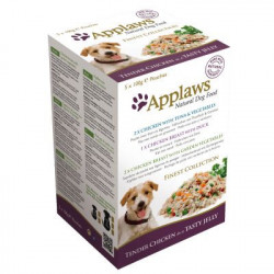 Applaws DOG FINEST SELECTION pliculețe de pui 5 x 100 gr