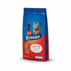 Brekkies Cat vită, legume și cereale