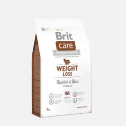 Brit Care Weight Loss Iepure și Orez 3 kg