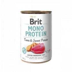 Brit Mono Protein Ton și Cartofi dulci 400 gr