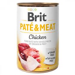 Brit Pate and Meat cu pui 400 gr