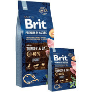 Brit Premium by Nature Light 15 kg + 3 kg