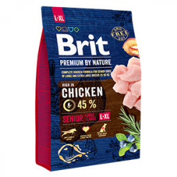 Brit Premium by Nature Senior L & XL cu pui 3 Kg