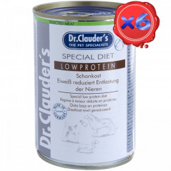 Dr. Clauders Dog LOW PROTEIN 6 x 400 g