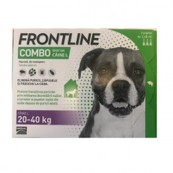 Frontline Combo L (20-40 kg) - 3 pipete deparazitare