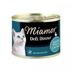 Hrana umeda pentru pisici Miamor Fara Cereale pui si somon